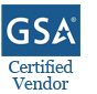 GSA Certified Vendor