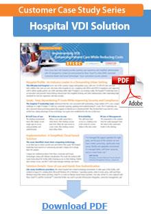 Hospital VDI Solution Case Study